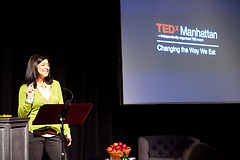 "From the 2011 TEDx Manhattan event titled ""Changing The Way We Eat"" held February 12, 2011 in NYC."