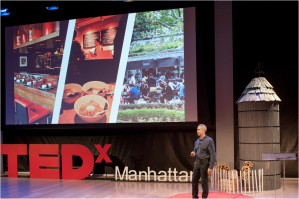 "Danny Meyer, restaurateur and CEO of the Union Square Hospitality Group, giving his talk ""The Convergence of Casual and Fine"" at TEDxManhattan 2015."