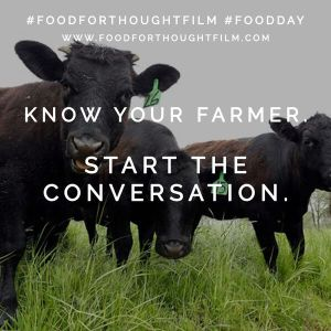 This Food Day, start a conversation-- use hashtags #foodforthoughtfilm and #foodday on Twitter to join the Food For Thought, Food for Life movement.